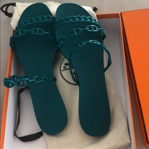 hermes rivage jelly sandal